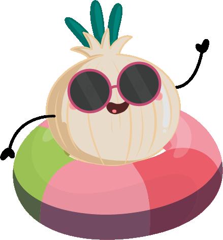 Cebolla dulce verano